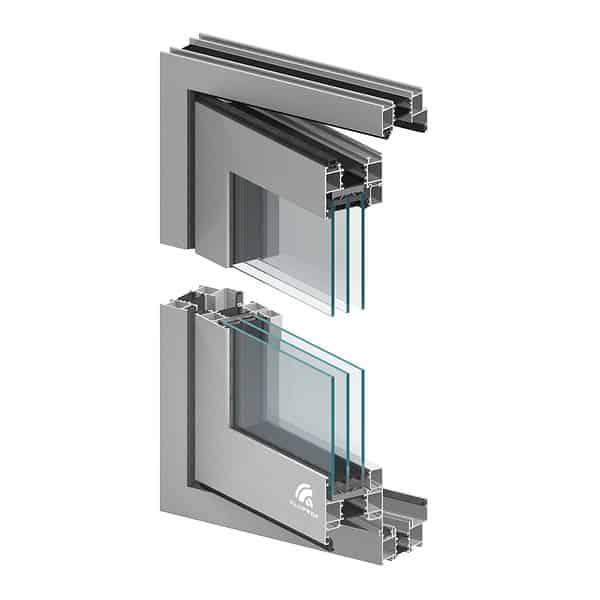 Vikdörr vikdörrar aluminium