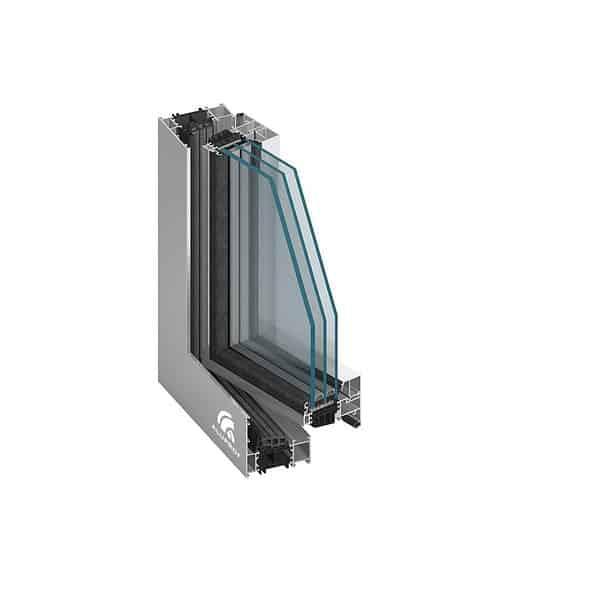 Aluminiumfönster MB-60US