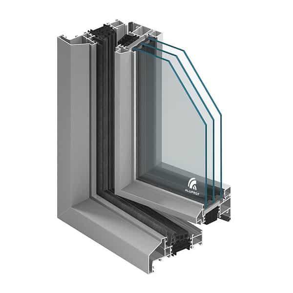 Aluminiumfönster MB-Ferroline