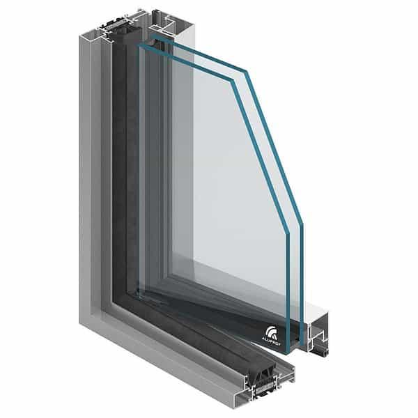 Aluminiumfönster MB-Slimline